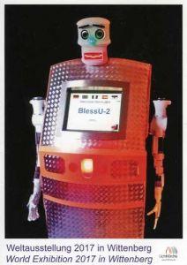 Robotti, joka siunaa