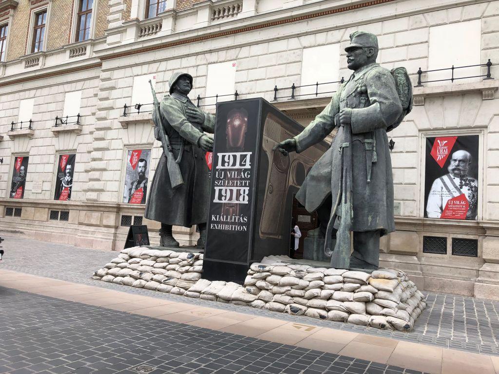 Trianon rauhan muistomerkki Budapestissä